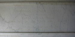 Chapman Henry Hyams