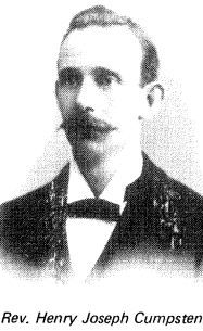 "Rev Henry Joseph ""Harry"" Cumpsten"