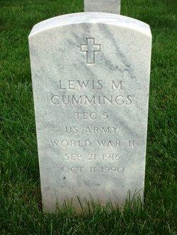 Lewis M Cummings