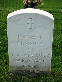 Harry P Cummins