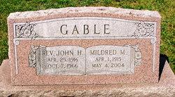 Rev John Henry Gable
