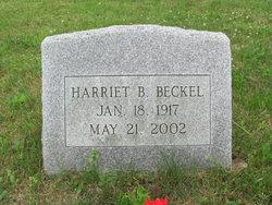 Harriet B. Beckel