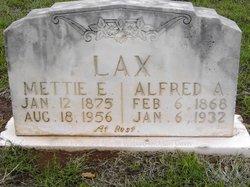 Mettie Elvira <I>Hinson</I> Lax