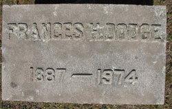 """Frances Howard """"Frank"""" Dodge"""