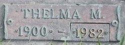 Thelma M. <I>Hooker</I> Alexander