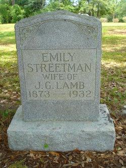 Sarah Emily <I>Streetman</I> Lamb