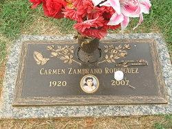 Carmen <I>Zambrano</I> Rodriguez