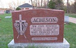 William John Renfred Acheson