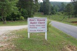 Horns Memorial Baptist Church Cemetery