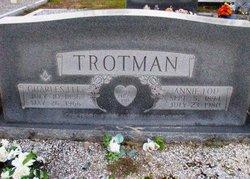 Annie Lou <I>Owen</I> Trotman