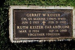 CPL Gerrit William Keizer