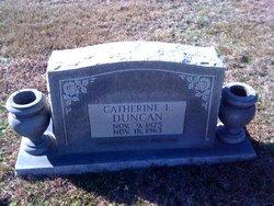 """Catherine Ellen """"Kate"""" <I>Sanford</I> Duncan"""