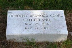 Dorothy <I>Redwood</I> Sutherland