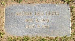 Archie Leo Lewis