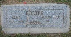 Elsie <I>Gale</I> Foster