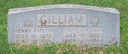 Henry Taylor Gilliam