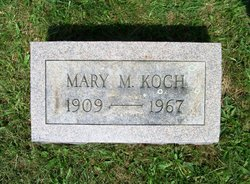 Mary M. <I>Eckroth</I> Koch