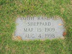 Macie Edith <I>Randall</I> Sheppard