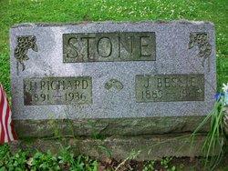 J. Bessie <I>Hawkins</I> Stone