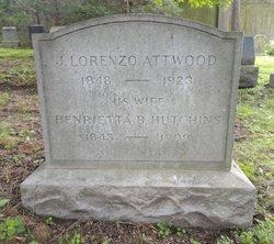 Henrietta B. <I>Hutchins</I> Attwood