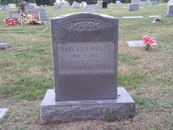 Mary Ella <I>Moody</I> Wright