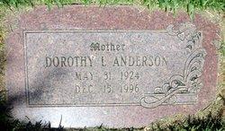 Dorothy Lavina <I>Cox</I> Anderson