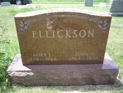 Alma L. <I>Lier</I> Ellickson