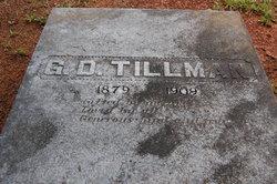 George Dionysus Tillman Jr.