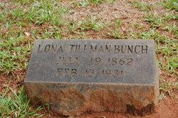Lona <I>Tillman</I> Bunch