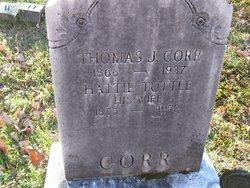 Hattie <I>Tuttle</I> Corr