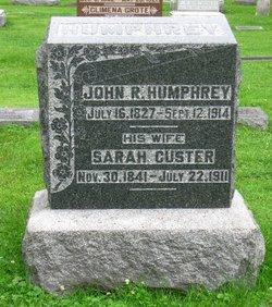 Sarah <I>Custer</I> Humphrey