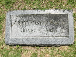 Abbie P. <I>Foster</I> Wood