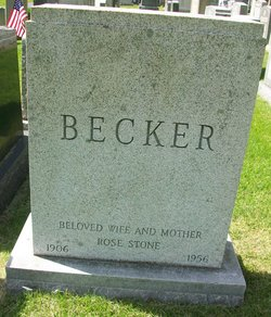 Rose <I>Stone</I> Becker