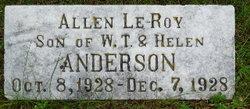 Allen Le-Roy Anderson