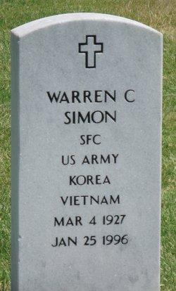 Warren C Simon