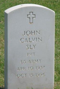 John Calvin Sly