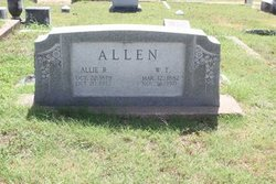 Allie Ransom <I>Echols</I> Allen