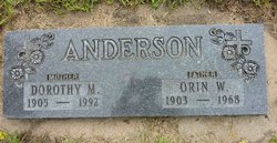 Orin Windell Anderson