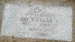 PFC Ray Edward Claar