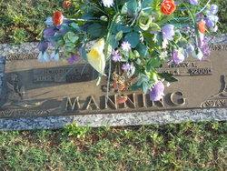 Mary Frances <I>Lewis</I> Manning