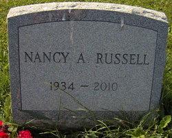 Nancy A. <I>Helt</I> Russell