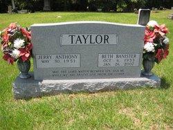 Beth Banister Taylor 1953 2007 Find A Grave Memorial