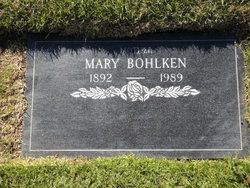 Mary May <I>Gabel</I> Bohlken