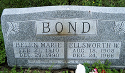 Helen Marie <I>Charley</I> Bond