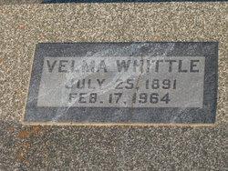 Velma Louise <I>Billinger</I> Whittle