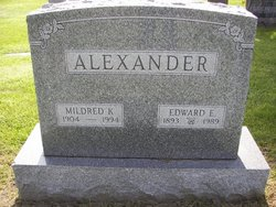 Edward E Alexander