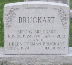 Helen <I>Eckman</I> Bruckhart