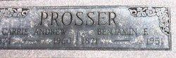 Benjamin Franklin Prosser, Jr