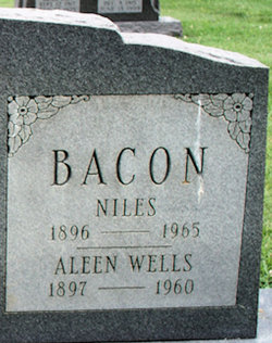 Aleen <I>Wells</I> Bacon