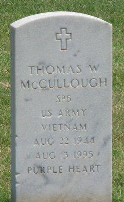 Thomas W McCullough